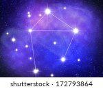 libra zodiac sign bright stars... | Shutterstock . vector #172793864