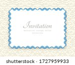 rectangle vector frame with... | Shutterstock .eps vector #1727959933