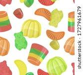 pattern of beautiful realistic...   Shutterstock .eps vector #1727961679