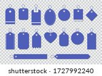 set of blank labels tag... | Shutterstock .eps vector #1727992240