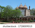 Three Domed Mosque Within The...