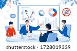 business brainstorming... | Shutterstock . vector #1728019339
