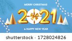 happy new 2021 year  party... | Shutterstock .eps vector #1728024826
