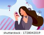 asthma inhaler help allergic... | Shutterstock .eps vector #1728042019