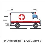 Vector Illustration Ambulance...