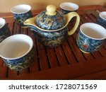 The Ceramic Dragon Teapot And...