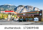 squamish  canada   may 12  2007 ...   Shutterstock . vector #172809548