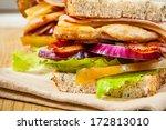 Chicken Breast Sandwich With...