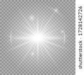 white glowing light burst... | Shutterstock .eps vector #1728142726