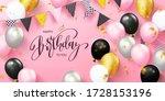 happy birthday holiday card... | Shutterstock .eps vector #1728153196