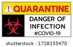 quarantine covid19 coronavirus... | Shutterstock .eps vector #1728155470