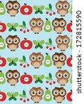 baby seamless pattern design... | Shutterstock .eps vector #172815590