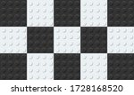 checkered flag from plastic... | Shutterstock .eps vector #1728168520