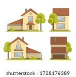 Vector Illustration .house...