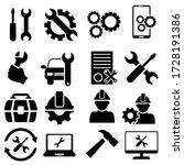 Repair Icon Vector Set. Tool...