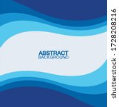 blue wave vector abstract... | Shutterstock .eps vector #1728208216