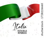 2nd june  italy happy republic... | Shutterstock .eps vector #1728226660