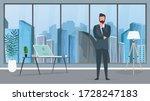 a businessman in a business... | Shutterstock .eps vector #1728247183