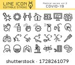 covid 19 corona virus vector... | Shutterstock .eps vector #1728261079