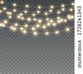 vector christmas lights ... | Shutterstock .eps vector #1728261343