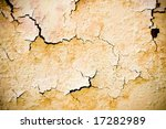 detailed old abandoned wall texture - stock photo