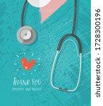 vector illustration.thank you... | Shutterstock .eps vector #1728300196