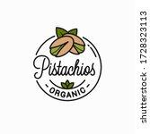 Pistachio Nut Logo. Round...