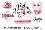 motivation and inspiration...   Shutterstock .eps vector #1728324040