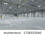 Clean And Empty Industrial Hall ...
