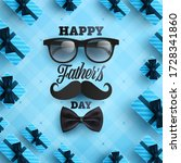 father's day poster or banner... | Shutterstock .eps vector #1728341860