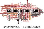 science tourism word cloud... | Shutterstock .eps vector #1728380326