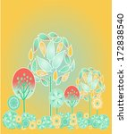 woodlots circular full of...   Shutterstock .eps vector #172838540