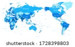 world map   pacific china asia...   Shutterstock .eps vector #1728398803