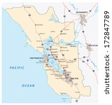 san francisco bay area | Shutterstock .eps vector #172847789