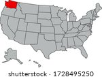 map of the united states of...   Shutterstock .eps vector #1728495250