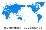 world map   pacific china asia... | Shutterstock .eps vector #1728503473