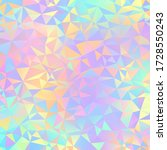 iridescent geometric design  ... | Shutterstock . vector #1728550243