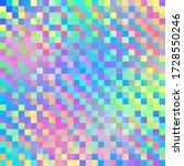 iridescent geometric design  ... | Shutterstock . vector #1728550246