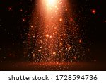stage light and red glitter... | Shutterstock .eps vector #1728594736