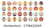 people cartoon avatars.... | Shutterstock .eps vector #1728623269