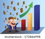 profit presentation | Shutterstock .eps vector #172866998