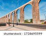 Stone Orange Aqueduct At...