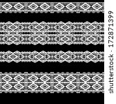 seamless lace lacy ribbon... | Shutterstock . vector #172871399