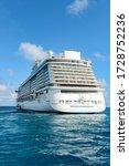 Small photo of Nassau, Bahamas-December16, 2015:Norwegian Breakaway Cruise ship seen on the Atlantic ocean.