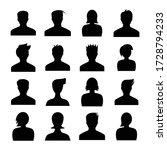 human avatar icons set... | Shutterstock .eps vector #1728794233