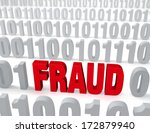 "a large  red ""fraud"" stands out ... 