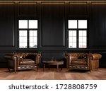 Classic Black Loft Interior...