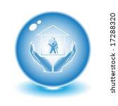 vector abstract internet icon.... | Shutterstock .eps vector #17288320