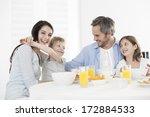 Breakfast For An Happy Family