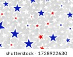 red white and blue star pattern ... | Shutterstock . vector #1728922630